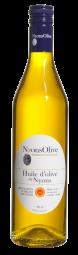 Huile d'Olive de Nyons AOP - Une huile d'exception unique en France L'huile d'olive de Nyons A.O.P. est très onctueuse, finement fruitée, de couleur vert doré. On retrouve les arômes de la pomme verte, d'herbes fraîchement coupées, ainsi que des parfums de noisette, d'amande et de beurre fondu. Cette spécificité provient de la variété du terroir, de l'époque de la cueillette (décembre, janvier, en légère sur-maturité). L'huile d'olive est un produit bienfaisant, un produit authentique ancré dans notre culture depuis des millénaires, un produit gastronomique, un produit d'excellence ! L'huile d'olive de Nyons AOP est issue de la gamme d'exception Nyonsolive®.