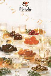 Gamme de Noël - Manola présentera sa gamme de Fruits Secs et d'épicerie fine BIO et Conventionnelle de fin d'année.