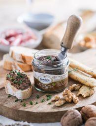 Rillettes de lentilles aux noix - Une recette originale préparée à base de lentilles et de noix. Un mélange savoureux et riche en goût qui épatera vos convives pour des apéritifs dinatoires, avec une salade verte ou en brunch.