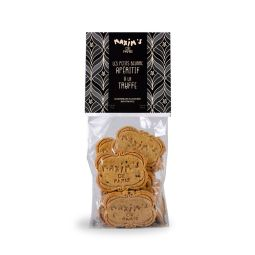Shortbreads flavoured with truffle