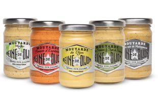 Mustard range without preservative - Reine de Dijon introduce on the market the first mustard range free of preservative.