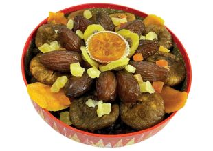 Dried fruit baskets - Manola will present its range of dried fruit baskets for the end of year celebrations 2021