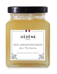 French Rhododendron Honey - The Hédène rhododendron honey from France, harvested in Pyrénées, is a rare honey with multiples properties that reveals sweet fruity and floral aromas in the mouth. Slightly lemony notes will appear at the end of tasting and will leave you in ecstasy.