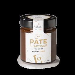 Pâte à Tartiner Vanille de Tahiti 220g - Laissez-vous envoûter par cet arôme naturel de vanille qui se libère à la dégustation. Un équilibre parfait entre l'authenticité du caramel et la douceur de la vanille de Tahiti, qui apporte en bouche ce goût subtil et délicat.