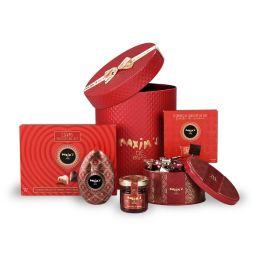 "Round gift-box  ""Ravissement"""