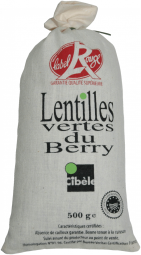 Berry Green Lentils - Berry Green Lentils are distinctive due to their mild chestnut flavor, the way the hold their shape during cooking and the meticulous way they are sorted. Rich in proteins, iron ad vitamins, try offering this naturally gluten-free legume that is grown without fertilizers by our 50 farmers who are proud of their diversification