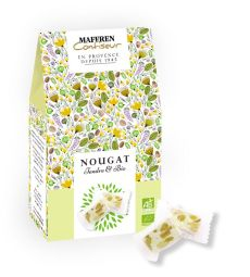 Bio Nougat - A Bio and Soft nougat, with almonds and honey. A tasty recipe with bio and quality ingredients.