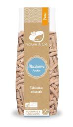 Maccheroni avoine - Pâtes artisanales italiennes • Recette 100% avoine • Avoine garanti sans gluten • Riche en fibres • Source de protéines • Sans gluten • Véganes