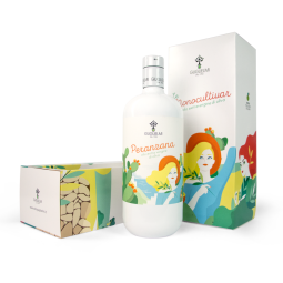 MONOCULTIVAR gif box - MONOCULTIVAR giftBOX MAGNUM Monocultivar Magnum is the special version of the Monocultivar line. The 1 liter bottle, with its rounded shape and sunny colors, thrills the customer with its great scenographic impact. A special format to pay tribute to the balanced taste the most famous cultivars of Puglia. It is ideal for a special gift.  BOXcm 13x9,5x30,5h   MONOCULTIVAR giftBOX TRIS 3x500ml Looking like a painting, the Gift Box dedicated to the Monocultivar collection contains all the flavors of high quality extra virgin olive oil.  The taste goddesses, Coratina Peranzana and Ogliarola, will take you on fascinating culinary atmosphere where, by closing your eyes, you'll envision yourself in Puglia.  Monocultivar Gift Boxes are the perfect gift for those who love excitement.   BOX cm 37x8x28h  MONOCULTIVAR giftBOX TRIS 3x100ml Monocultivars  in the 100 ml format are the ideal gift for those who want to discover the taste of the typical cultivars of Puglia. A short tasting itinerary that will lead the palate in savoring of the differences between Coratina, Peranzana and Ogliarola. BOX cm 15,8x5,4x11,2h