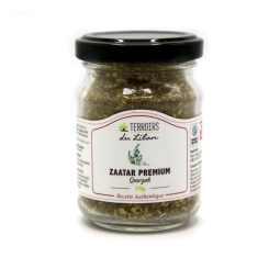 Zaatar - Zaatar, a must in Lebanese cuisine! This spice, which is composed of oregano, sumac, sesame and salt, comes from the Qawzah cooperative located in the south of Lebanon and is composed in part of the flower of the oregano. It is combined with olive oil to delicately spice up your dishes.