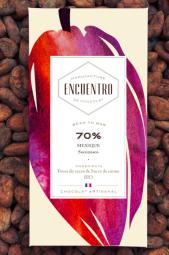 70% Mexico organic chocolate bar