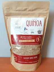 French white quinoa - cooked in 6 min