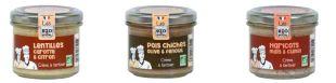 Gamme de 3 Houmous VEGAN - 3 recettes vegan tendances à base de légumineuses à la texture crémeuse pouvant être une alternative aux produits carnés. Pour un apéritif décomplexé aux saveurs prononcées, équilibrées et relevées d'épices, d'agrumes et autres condiments : - Crème à tartiner, lentilles carotte & citron - Crème à tartiner, haricots maïs & cumin - Crème à tartiner, pois chiches olive & fenouil
