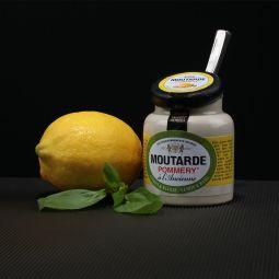 Pommery® mustard with lemon & basil 100g