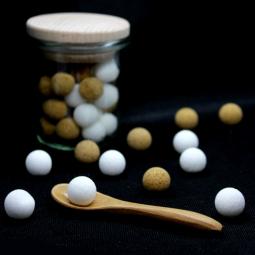 Mini Billes - Mini billes en sucre de canne blanc et roux