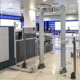 Enhanced walk-through  metal detector - <p>-</p>