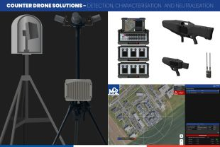 COUNTER DRONE SOLUTIONS - Millimeter radar, Monitoring, Smart jamming (iEDs), Neutralisation - <p>-</p>