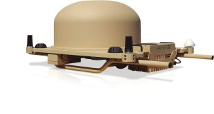 DEKA040OTM: Complete high-speed satellite communication station, designed to operate on a moving vehicle. - <p>-</p>