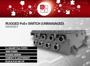 RUGGED PoE+ SWITCH (unmanaged) - <p>-</p>
