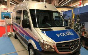 German Police Car WITH cLEARGARD wINDOWS - <p>-</p>