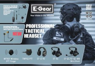 Hearing Protection Headset - <p>Our communication systems are tailored to the needs of tactical force in each single user, in provide that any mission is completed successfully. With its innovative concepts and technologies support. We East Gear have 3 series (EF-QC Series, EF-AI Series and Bone Conduction Series), a total of 9 hearing protection products, with different characteristics, to achieve different needs.</p>