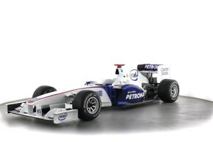 BMW SAUBER F1.08-01B - The BMW Sauber F1.08 was the car used during the 2008 Formula One season.  The BMW Sauber team enjoyed a successful start to the 2008 season with Nick Heidfeld finishing second in Melbourne, 5.4 seconds behind the McLaren of Lewis Hamilton.  After the successful start of the 2008 season, the BMW Sauber team enjoyed being a strong performer at the front of the grid.