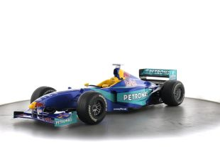 SAUBER C17-04 - The Sauber C17 was the car with which the Sauber Formula One team competed in the 1998 Formula One season.  It was driven by Jean Alesi, who joined from Benetton, and Johnny Herbert, who was in his third season with the team after an impressive 1997 season.  1998 confirmed Sauber's position as a respectable midfield runner unable to make the final breakthrough needed to become a top team.