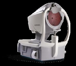 Plateforme multimodale associant un autoréfractomètre kératomètre à un topographe Placido – VX110 – Visionix - Le VX110 est une plateforme multimodale qui associe un autoréfractomètre kératomètre à un topographe Placido. Le VX110 offre de multiples fonctionnalités tout en étant pratique et peu encombrant. Grâce à sa résolution et sa précision élevées, le VX110 va au-delà de la réfraction de base. Il offre aux professionnels de la santé oculaire la possibilité de couvrir le processus réfractif et cornéen et de proposer des tests plus simples et plus complets, pour l'opérateur comme pour le client
