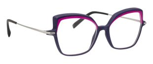 AT2102 - Ultra-light frame: a concentrate of technology weighing only 19 grams! Fronts made with a new 3D printing technology without equivalent on the market. The guarantee of a silky touch and a hand-finished look. Ultra-thin temples in pure titanium. Brushed cellulose acetate tips. Biocompatible & substainable frames in bright UV-resistant colors.