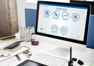 Dynamic Audio - La Solution de gestion complète pour les Audioprothesistes. DYNAMIC Audio® a été conçu pour les Audioprothésistes exigeants. Indépendants ou Enseignes, c'est LA solution adaptée à votre métier qui assure la gestion de vos tâches quotidiennes à travers un parcours clair et optimisé. Un Logiciel complet, de la création des dossiers patients à la gestion de votre Caisse, Stock et Agenda. Accédez également au suivi d'activité de votre Laboratoire grâce à des tableaux de bords et Statistiques. Un Logiciel 100% personnalisable grâce à de nombreuses interfaces et modules tels que le Marketing (campagnes SMS, emails), l'export comptable, l'assurance Mark'Assur, la Télétransmission Sesam-Vitale et d'autres.