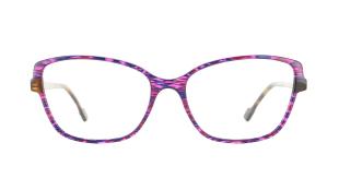 VANNI BLADE - BLADE est un modèle de bloc d'acétate exclusif VANNI. Son design conçu par et pour VANNI met en avant un motif tissé lumineux multicolore. La matière est comme découpée puis reliée entre elle, laissant apparaître au premier regard de fi nes particules éclatantes colorées sur fond transparent.