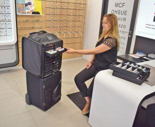 PACK DUO - Pratiques, les deux sacs du Duo se superposent pour une manipulation plus ergonomique et pour convenir à tous les coffres de véhicules.
