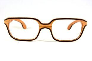 Lunettes en bois modèle Troneta - Ces lunettes Troneta, de taille moyenne et de forme carrée, sont idéales pour les personnes déterminées et de caractère. Il s'agit d'un modèle avec beaucoup de personnalité qui fonctionne très bien avec des visages ronds, longs ou ovales.