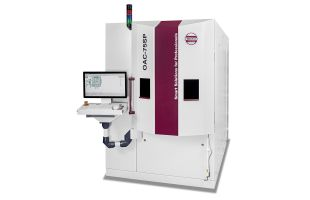 OAC-75SP Vacuum Box Coating System for Ophthalmic Lenses - For the application of high quality anti-reflective (AR) coatings, clean coats (CC), mirror coats as well as tinted coats on ophthalmic lenses. The OptoTech OAC-75SP is the most flexible coating system on the market and a perfect solution for small and mid-size RX-labs. This evaporation coater is used for the application of high quality anti-reflective (AR) coatings, clean coats (CC), mirror coats as well as tinted coats on ophthalmic lenses. Easy-to-operate, highly flexible and with very short cycle times New OptoTech Tinted Gradient AR process: The tinted gradient is applied directly in the AR-process in highest quality (100% stable tinting results) without the need of a separate tinting machine. You can now coat different indices (also high index) as well as freeform lenses in the same batch. Moreover, you have a maximum flexibility in the design of your gradient with regards to color, length, position and intensity. Even customized gradient shapes are possible. Moreover, Tinted Gradient AR can be combined with hydrophobic and AR-coatings in one and the same process as well as high fashion mirror coatings in a separate process.