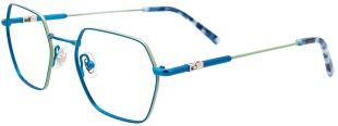 ET9003-050 - DES TECHNOLOGIES PENSEES POUR LES ENFANTS  Pont EasyTwist® Permet d'offrir les lunettes les plus flexibles et les plus durables au monde, grâce à son métal à mémoire de forme d'une composition hypoallergénique tout à fait révolutionnaire ! La mémoire de forme à 100% élimine les risques de casse au niveau du pont et réduit le besoin fréquent d'ajustements et d'alignements, ce qui rend ces lunettes idéales pour les enfants de tous âges qui ont besoin de montures durables et sans tracas.  Charnière TurboFlex® Peu importe comment l'enfant plie ou retourne sa monture, notre charnière permet aux branches d'effectuer une rotation à 360°, rendant la monture plus durable et plus confortable. Ce dispositif requiert un minimum d'ajustements, offre un confort de longue durée et maintient sa forme d'origine. Nos lunettes pour enfants équipées de charnières TurboFlex® sont garanties à vie contre tout vice de fabrication.  Taille 47-18-135