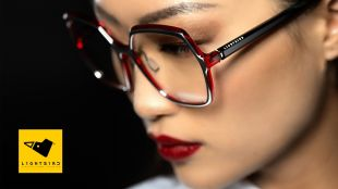 Light_Matter collection - Light_MATTER collection, derived from the union of two materials: Italian acetate and hi-tech light aluminium alloy,  thanks to the innovative gluing system patented