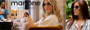 """Marlone Eyewear - Because people generally recognize you by your face, your choices are a real part of your identity. And if you choose to wear only one pair of Marlone for everything you do, that says something about you, too ! It is a committed choice, supported by the label """" Origine France Garantie"""" and  the will for the right price. Marlone is the perfect link to help you to create the image you want. Marlone offers you the key to find the right frame to match your personality, lifestyle and deepest convictions."""
