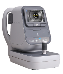 Auto Ref-Keratometer - Functions for User's convenience.    - Easy mode change (Adult/Child)   - Capacitive touch operation panel   - Electrical stage lock by one-touch   - Wide range movement of LCD monitor   - Various ports (HDMI, USB, USB-C, RS-232C)   - Wireless Communication (Bluetooth, Wi-Fi)  Smart functions for its maintenance.    - Simple software update (Micro-SD card)   - Slot type mainboard for simple replacement