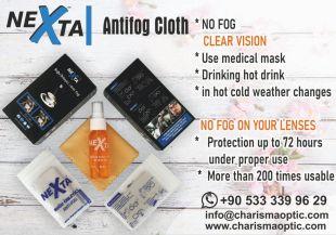 Nettoyage des lentilles antibuée NEXTA - 2 heures de temps d'action, une longue durée de vie du produit et, surtout, d'excellentes performances dans les verres hydrophobes. Anti-buée signifie qu'il n'y a pas de brouillard, il ne ralentit pas la formation de brouillard.