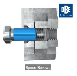 Space Screws - Screw system with never loose and comfort function for all kind of regular hinges