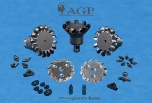 Diamond tools, polishing liquids, edging consumables,