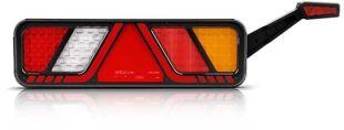 FT- 700 LED - <p>Nous vous présentons notre feu arrière à LED 24V, 6 fonctions: STOP / POSITION / INDICATEUR / RECUL / ANTIBROUILLARD / TRIANGLE; longeur du câble 2,5 m.</p>