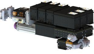 Electrification systems and components - <p>Système Plug'n'Play composé de Batteries Li-Ion développées et produites en interne, d'un groupe motopropulseur, d'une électronique de gestion et d'auxiliaires électriques.</p>