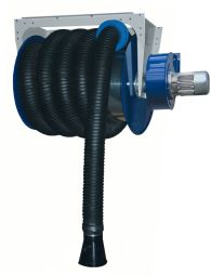 Enrouleur Mécanique - <p>Aspiration des gaz d'échappement avec enrouleur mécanique autonome adapté pour les garages poids-lourds et industriel.</p>