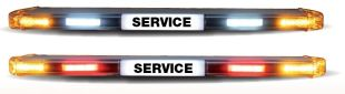 VEGA lightbar for service vehicles - <p>VEGA lightbar with alley lights and repeater function for indicators, position and brake lights.</p>