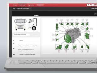 Atelio Data Truck - <p>Solution de documentation technique, dédiée aux spécialistes PL&amp;VUL, permettant de réaliser toutes les opérations de mécanique &amp; électricité.</p>