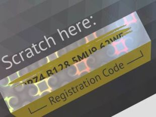 Scratch-Off Foils - - Protection of security-relevant data such as passwords, PIN codes etc. - Easy to scratch-off - High coverage - Clean stamping - High application speed - Standard pattern or customized designs