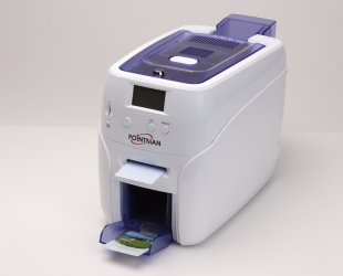 nuvia Card Printer - Ideal printer for ID badges, Membership cards and Bankcard Single/Dual sided printer Flexible feeding options Small footprint & Light weight Secure Mag.Stripe Encoding Contact & Contactless smart Card Encoding Rewrite function