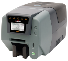 TP9200 Card Printer - Easy to Print Photo ID Card Reliable to Encode Mag, Stripe/IC/RF Card Flexible Card Printer for the Daily Card Printing Metal base card printer