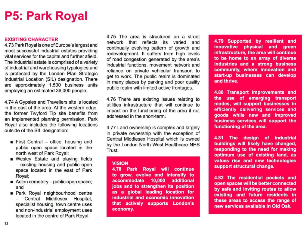 Places: Park Royal | OPDC